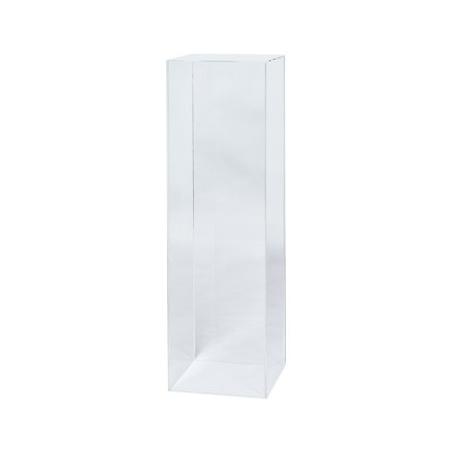 socle plexiglas, 25 x 25 x 100 cm (lxLxh)