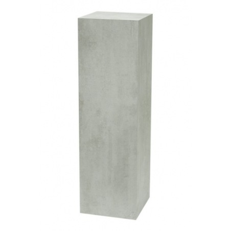 socle couleur beton, 40 x 40 x 100 cm (lxLxh)