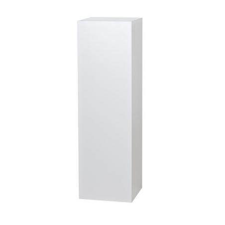 socle blanc, 25 x 25 x 100 cm (lxLxh)