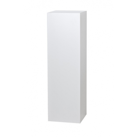 socle blanc, 30 x 30 x 60 cm (lxLxh)