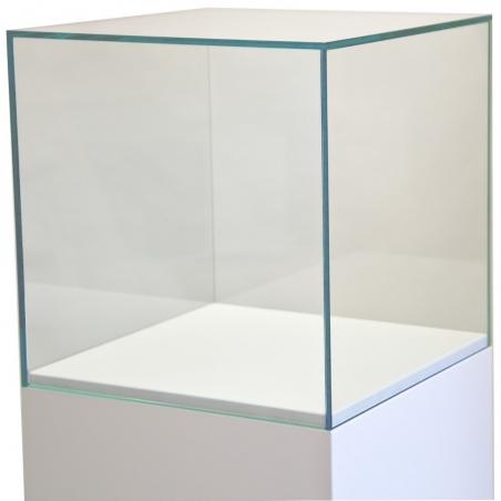 vitrine cloche en verre, 35 x 35 x 35 cm (lxLxh)