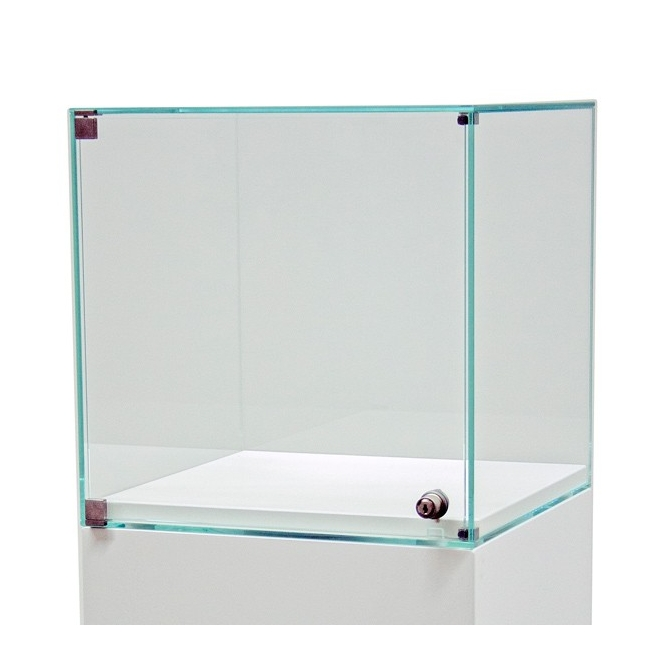 Vitrine socle avec porte 30 x 30 x 30 cm