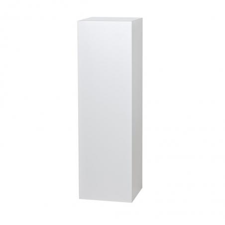socle blanc brillant, 50 x 50 x 100 cm (lxLxh)