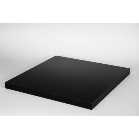 Top hoogglans zwart (max. 50x50cm)