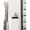 socle blanc, 30 x 30 x 100 cm (lxLxh)
