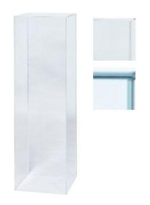 Socles verre   plexiglas